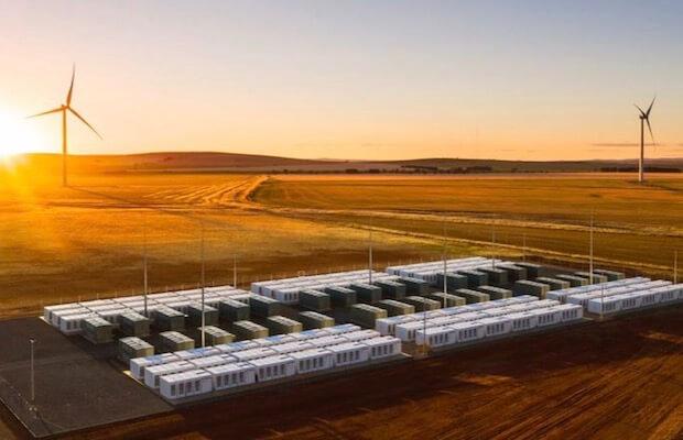 australia storage wind