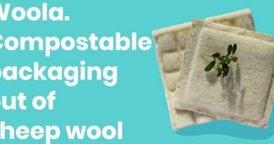 Woola, Compostable bubble wrap