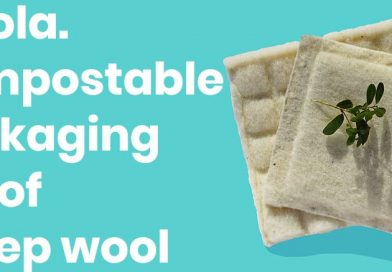 Woola, Compostable bubble wrap