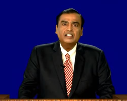 Mukesh Ambani at 43rd AGM