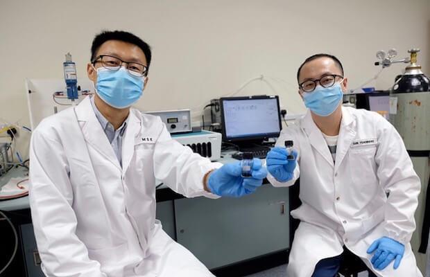 ntu ingapore hydrogen electrolysis research team
