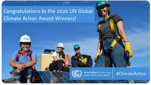 Global Climate Action Awards2020